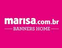 Banners para home - Lojas Marisa