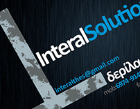 Business card for a contruction panels company
