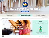 Brand website | Wordpress theme