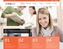 King Power, WordPress Retina Ready Multi-Purpose Theme