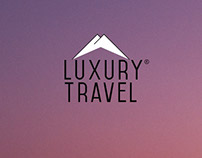 Luxury Travel Logo Concept