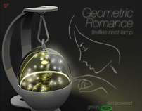 Geometric Romance (Fireflies Nest Lamp)