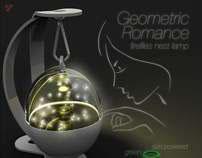Geometric Romance (Fireflies Nest Lamp)