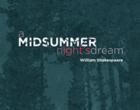 Poster Design A Midsummer Nights Dream (part 1)