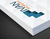 Moreira Engenharia - Marca e Cartões