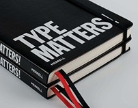 Type Matters! published by Merrell