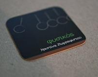 Christina Zografistou: Business card design (2013)