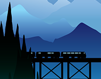 AMTRAK POSTERS