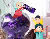 Cadbury Dairy Milk Social Campaign #2 | Illustration
