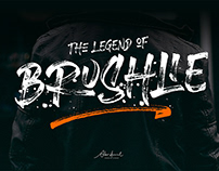 Free Brushlie Urban Brush Font