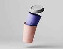 7 Coffee Cup Mockups