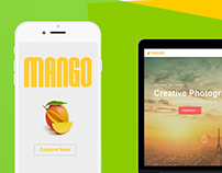 Freebie Mango agency Template
