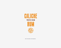 Caliche Rum artworks