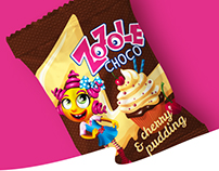 ZOZOLE CHOCO - candy packaging concpet