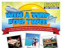 Internal Employee Trip Sweepstakes