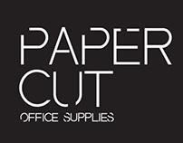 Packaging Design - Paper Cut office supplies