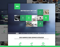 Argo - One Page Portfolio PSD Template