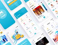 Fungib - NFT Marketplace Mobile App UI Template