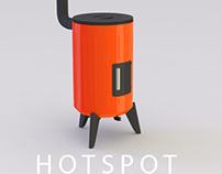 Hot Spot - Solid fuel burning stove