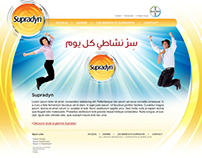 Supradyn Alger website