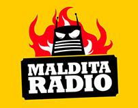 Rediseño de marca - programa de radio Maldita Radio