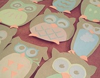 A Paper Owl Army