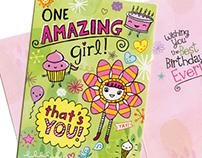Birthday card for Peaceable Kingdom