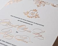 Regal Palace Wedding Invitations