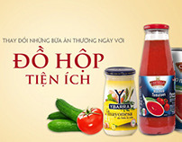 Solo.vn: Web banners - Family products
