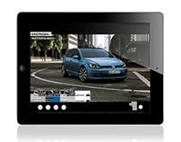 VW Golf 7 iPad Catalogue App