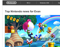 Nintendo Email Strategy