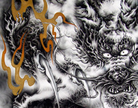 Japanese Dragon~airbrush#1