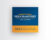 Hola Grand Faro / Los Cabos