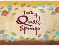 event branding + marketing TASTE OF QUAIL SPRINGS