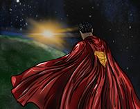 Superman Digital Illustration