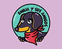 LOGOTIPO / EMILIA Y SUS AMIGOS