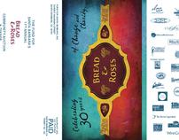 event branding + marketing    BREAD & ROSES 2010