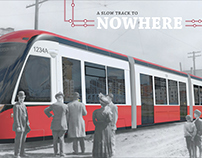 A Slow Track to Nowhere - Magazine Article Design