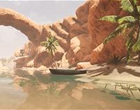 3d scene in CryEngine