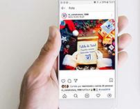 Criação de post para Instagram