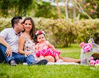 Danna Isabela cumpliendo su primer año! By Matawa