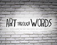 Art Through Words