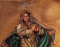 Virgen of Fatima by pallominy MD USA November 23 2012