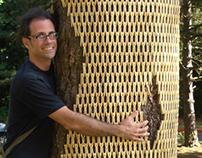 Kickstarter TREE WRAP installation 2013