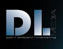 DL Media - Logo, stationery design, business cards