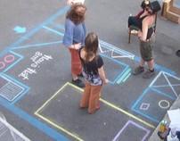 PARK ART TURIN. Street art adv.