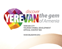 Yerevan city tourism logo development contest bid