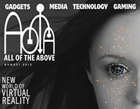 AOTA All of the Above / Magazine