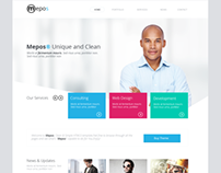 Mepos Clean Corporate Theme