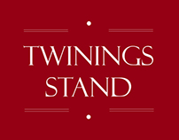 Twinings stand